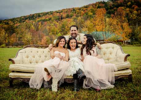 Catskills Wedding in Fall